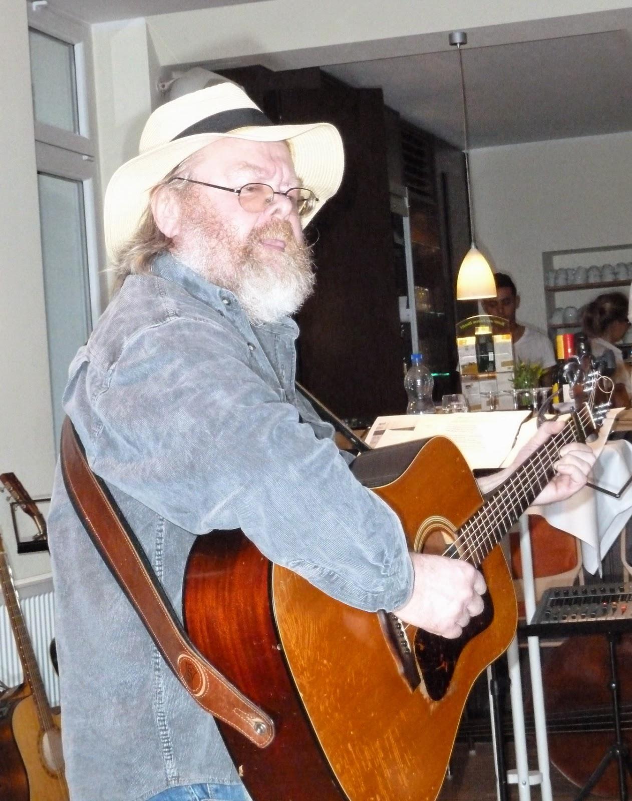 John Harrison beim Warm up Bee s Wing