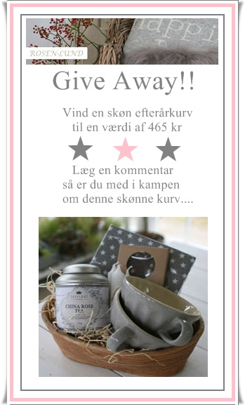 Give Away på min blog!