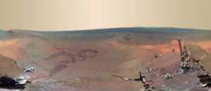 La foto de Marte de más alta resolución publicada por la NASA