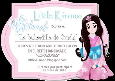 """Certificado Reto Handmade """"Corazones"""""""
