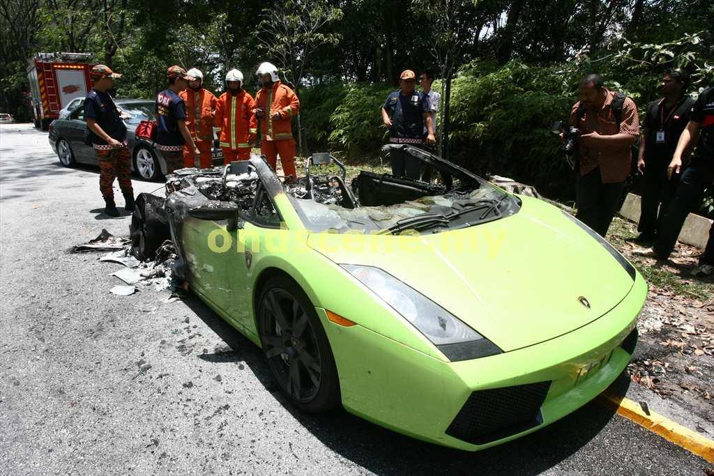 Malaysia Supercar Malaysia Lamborghini Gallardo Caught