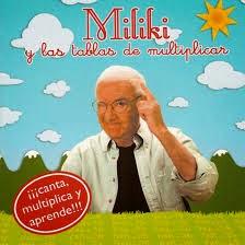 Escucha   a Miliky y repasa las tablas