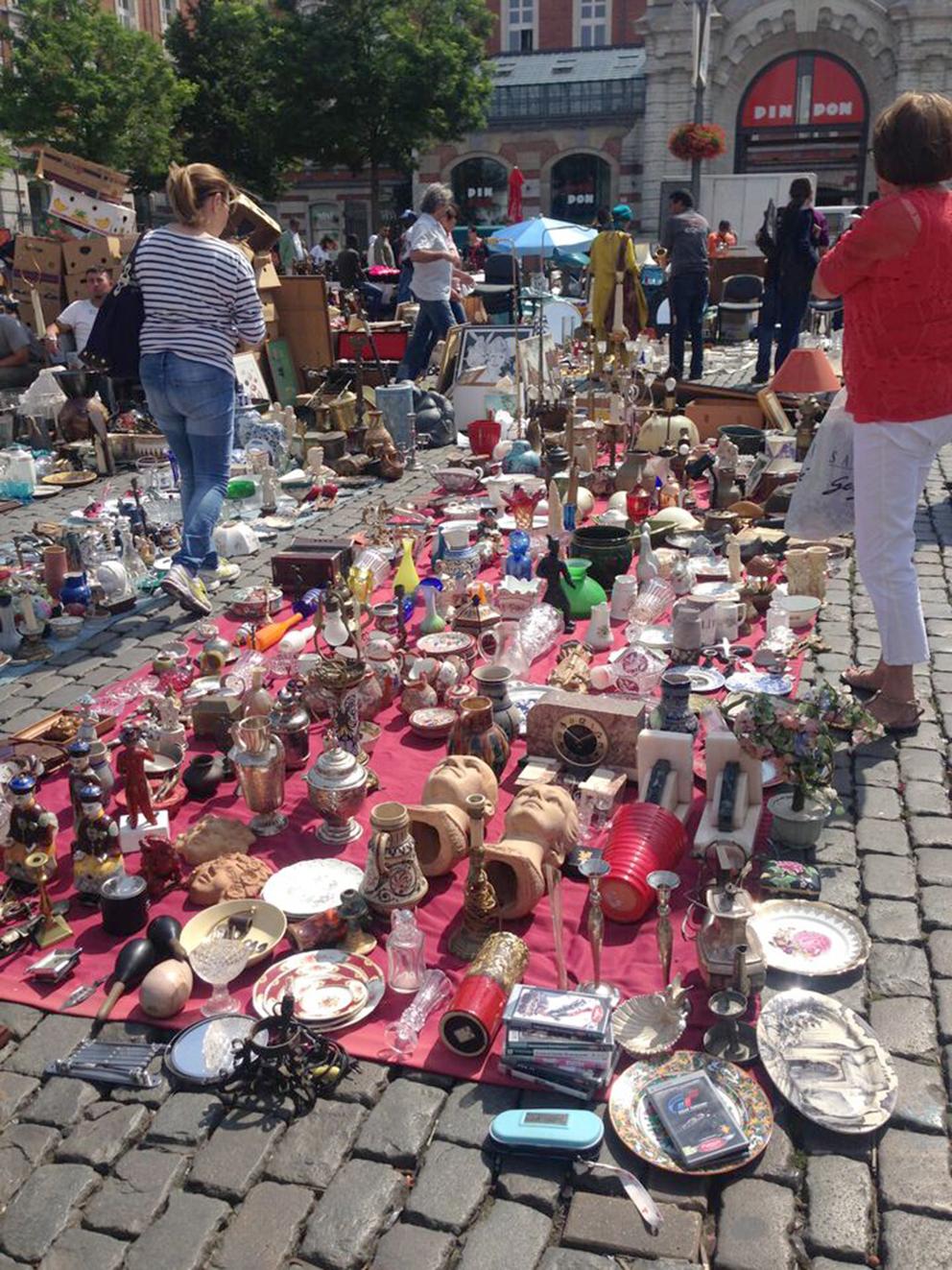 Jue de Balle Flea Market