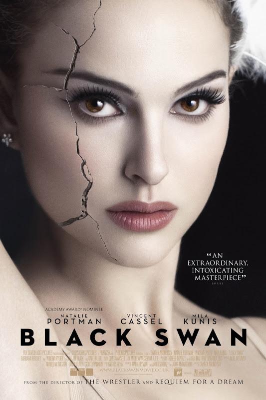 Black Swan plakat - Natalie Portman, Vincent Cassel, Mila Kunis