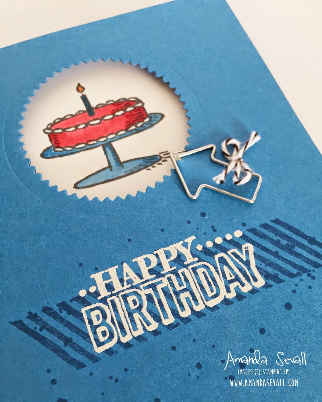 Amanda Sevall Designs 365 Cards Happy Birthday to my Husband – Happy Birthday to My Husband Cards