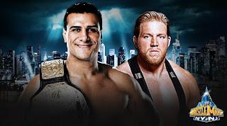 el mexicano alberto del rio se mide vs el estado unidense en un super combate de lucha libre profesional en wrestlemania 2013