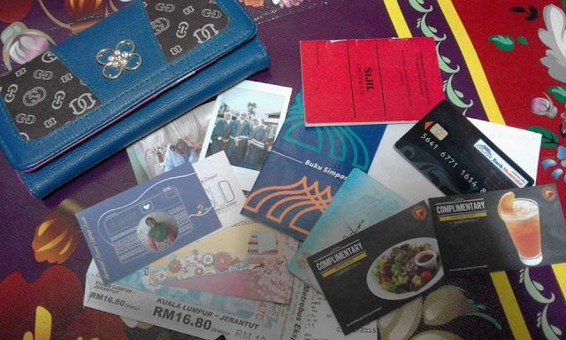 Cabaran7Hari l Barang Dalam Wallet