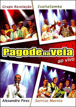 pagode Download   Pagode na Veia   Ao Vivo   DVDRip AVI + RMVB
