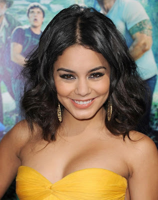 Vanessa Hudgens Hot Wallpaper in Yellow Shirt