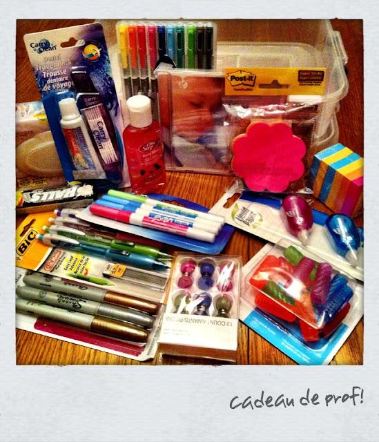 Des cadeaux  pour les enseignants! Julie Philippon