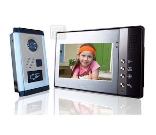 SY-802+D9ID-luxurious 1/1 - комплект видео домофона с RFID (1 монитор)