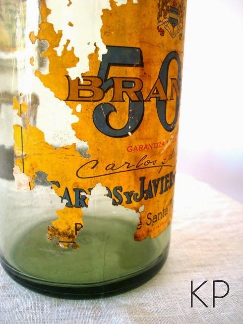 Venta de botellas antiguas para decoración. Venta de botella vintage para decoración.