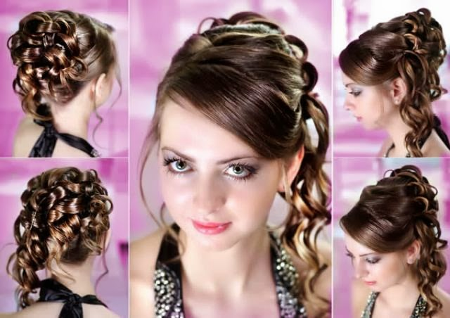 ... hair style and long zigzag hair style is very elegant hair style