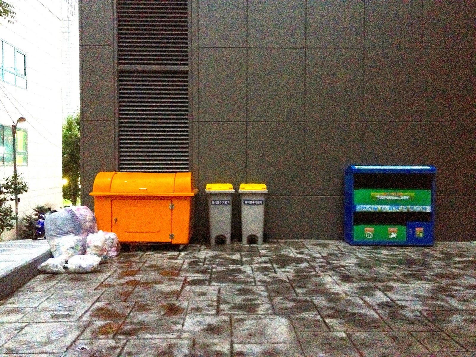 recycling Seoul Korea