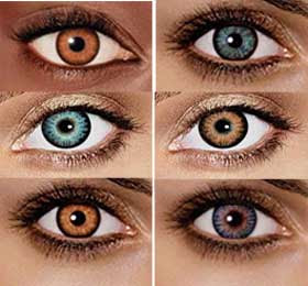 Colored+contacts+images