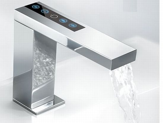 Zen Static Tap Is A Touch Control Sink Faucet. Its Light Indicator Flashes  As The Temperature Changes To Make Your Bathroom Add Chic And Luxury.