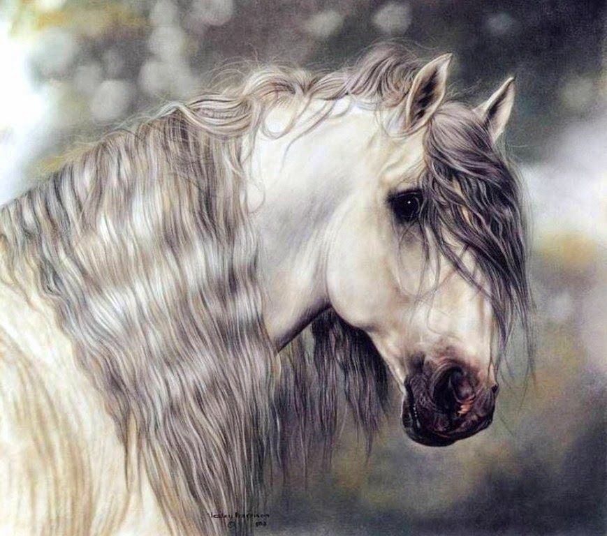 caras-de-caballos-pintadas-al-oleo