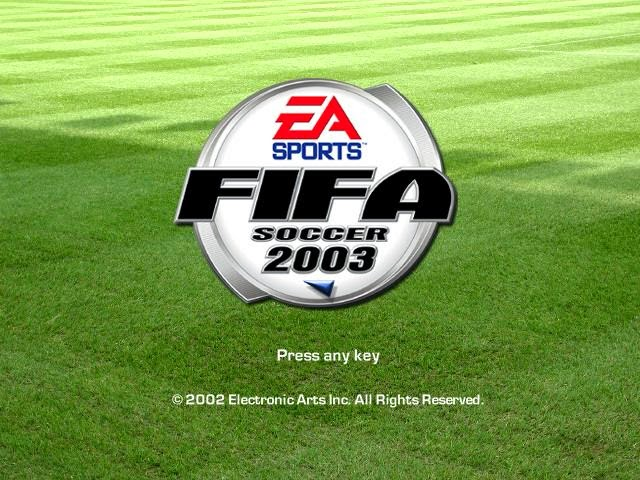 EA SPORTS FIFA Soccer 2003 PC Game