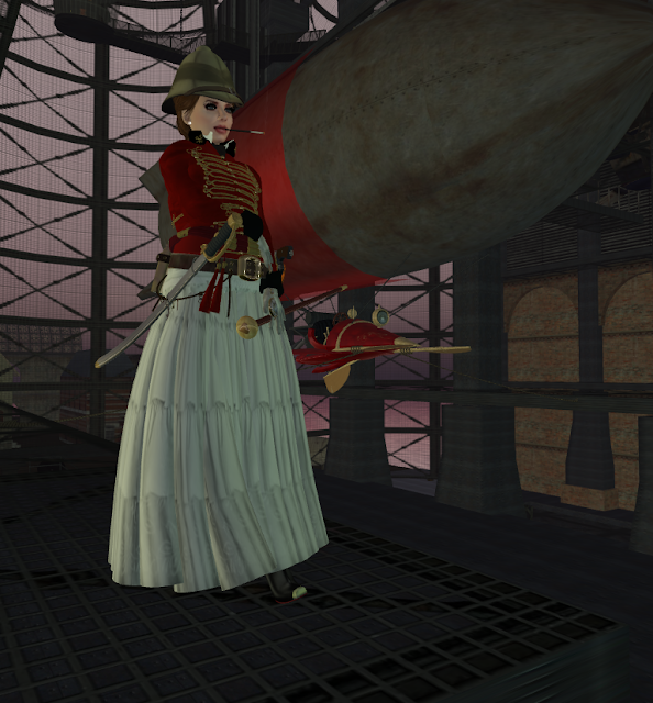 Steampunk in SecondLife - New Babbage.