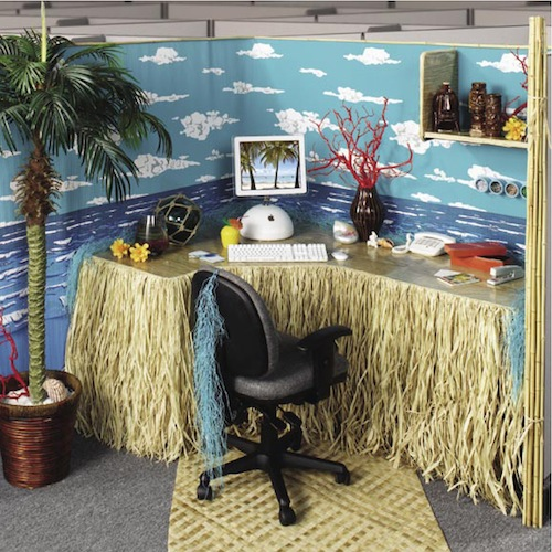 Office Cubicle Decorating Ideas - Interior Home Design