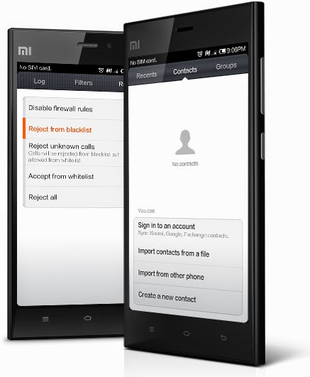 Xiaomi Mi3 Review Phonebook