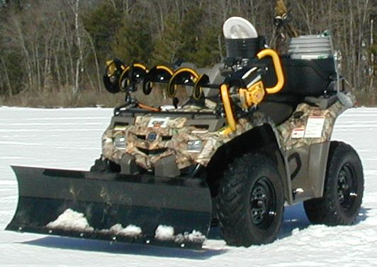 Ice Auger Quad Mount8