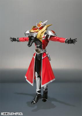 Bandai SH Figuarts Kamen Rider Wizard Flame Dragon figure