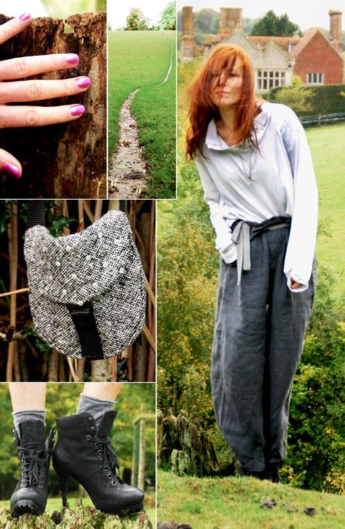 Psynopsis Vintage Katherine Hamnett Trousers Collage