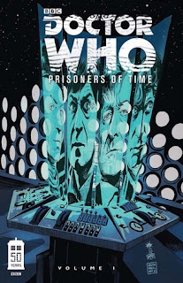 Doctor Who Prisoner of Time #1, David Tipton cover