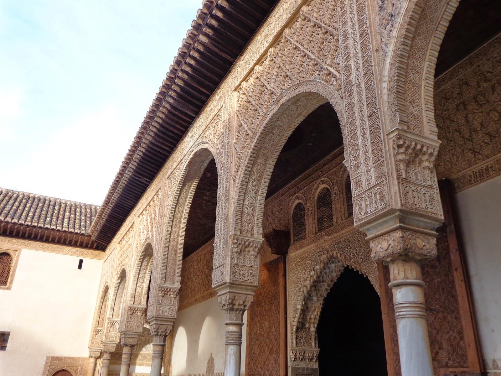 Patio de comares - Banos arabes palacio de comares ...
