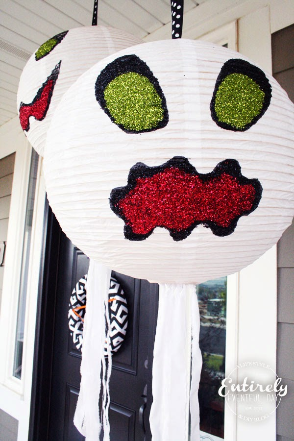 Halloween Porch Decorating Series. So many fun ideas! www.entirelyeventfulday.com #halloween #porch