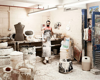 paper mache mannequin production