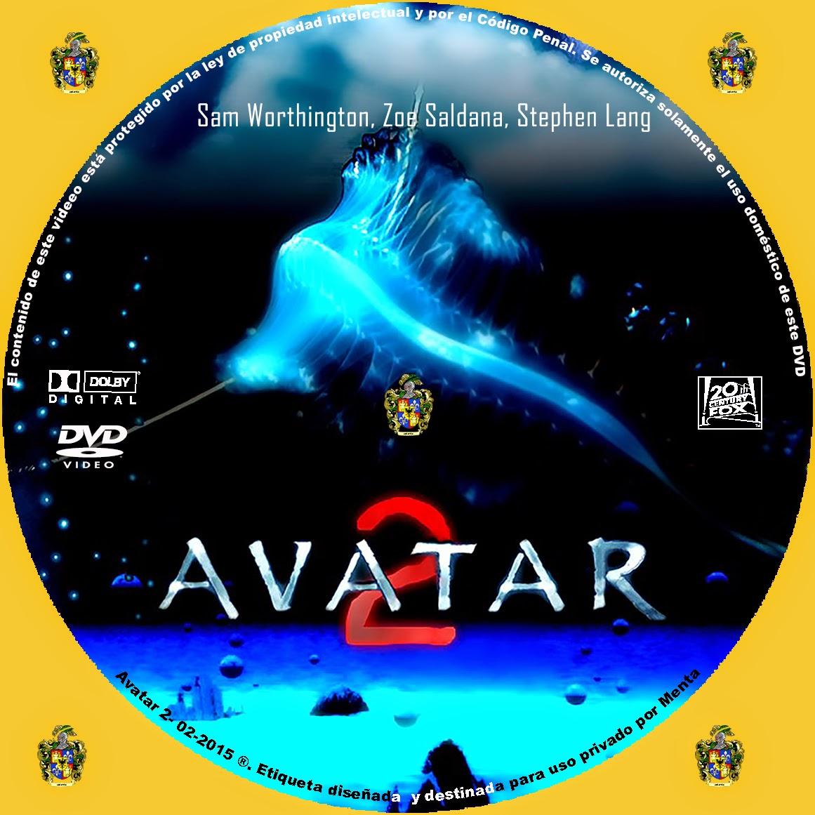 Avatar 2 Official Movie Trailer: Caratulas Y Etiquetas: Avatar 2