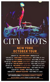 City Riots: Australian Indie Rock/Dream Pop Band Play Nine NYC Shows in Support of Debut Album 'Sea of Bright Lights'