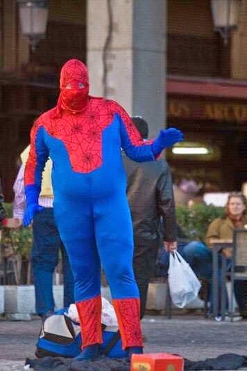 Fat man cosplay