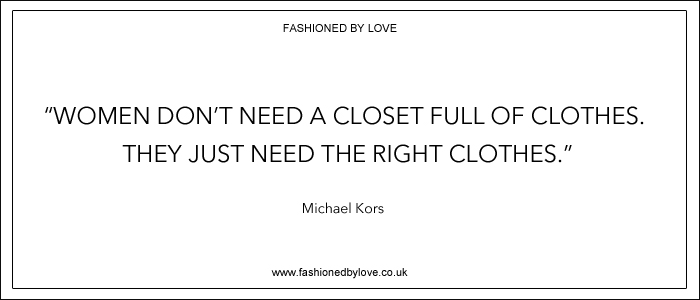 via fashioned by love | best fashion & style quotes | Michael Kors