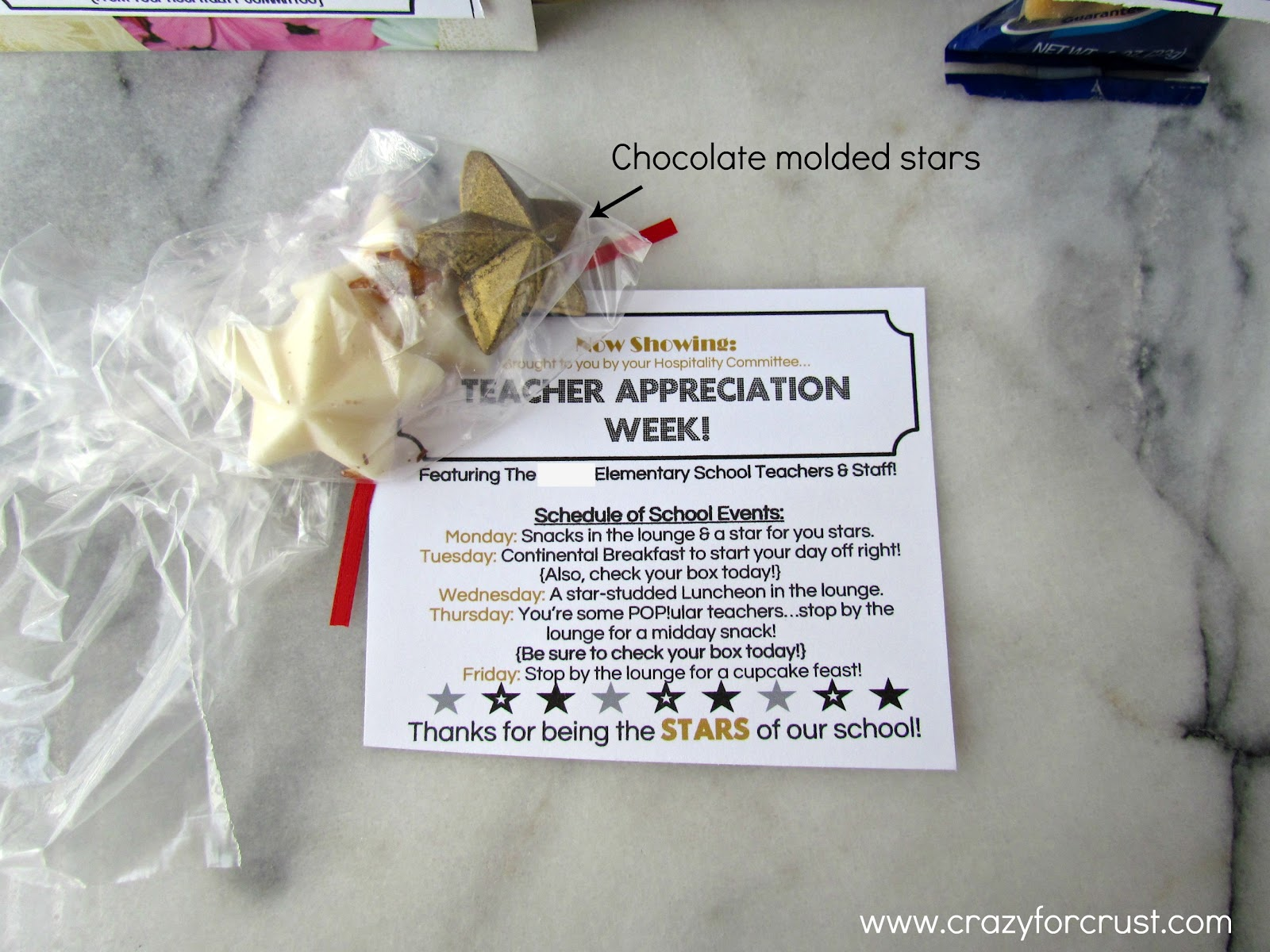 Invitation Teacher Appreciation Week Ideas