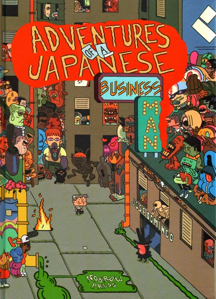 Adventures of a Japanese Business Man Cover