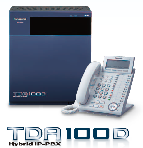 Pabx Panasonic TDA100D (852)