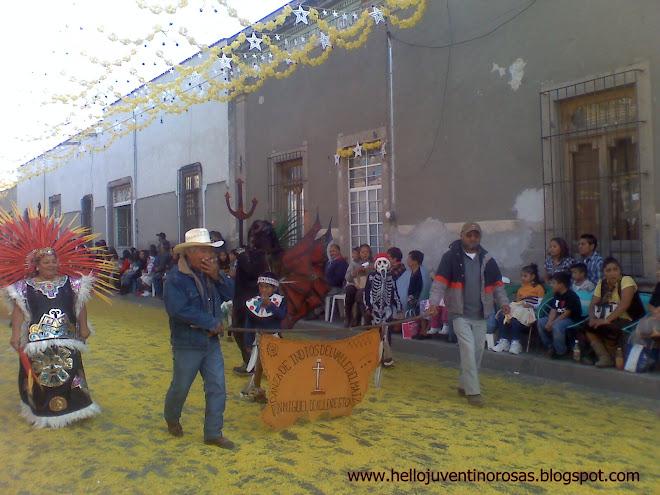 Danza de indios del Valle del Maiz de San Miguel de Allende, Gto
