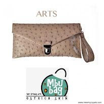 Queen Letizia Style MbuBag Clutch Bag and BOSS Fanuela Dress