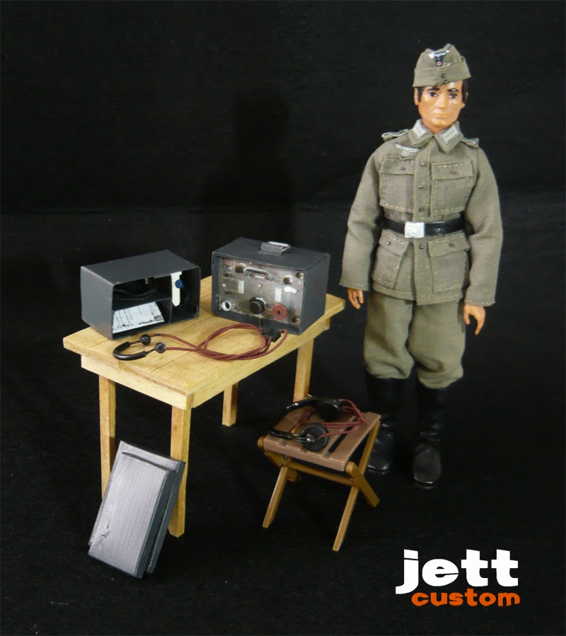 Madelman Wehrmacht Radio conexión