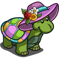 FarmVille Party Turtle