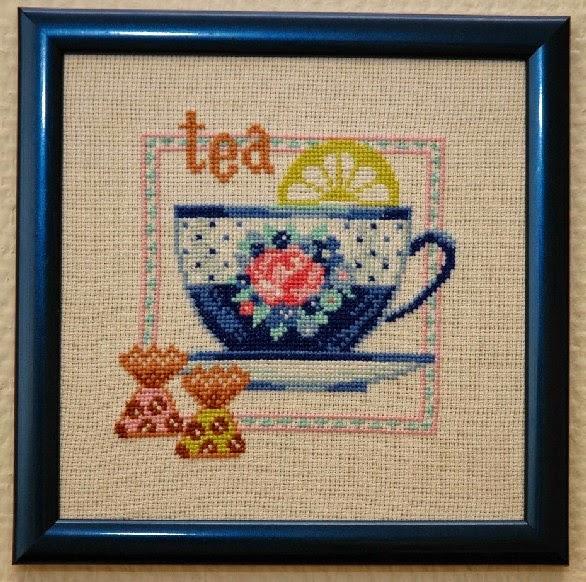 """Схема вышивки Riolis 692 """"Чай"""""""
