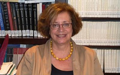 Μαρία Ανδρεαδάκη - Βλαζάκη: Πρόεδρος της Διακυβερνητικής Επικουρικής Επιτροπής της Σύμβασης της Unesco του 1970