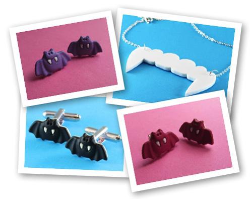 Bats & Vampire Jewelry