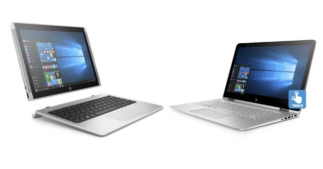 HP atualiza seus laptops Spectre X360 e Pavilion X2 com telas maiores
