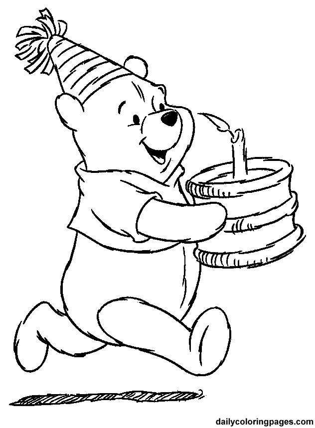 heffalump halloween coloring pages - photo#20