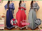 Gamis Jersey Tania 88135 HABIS