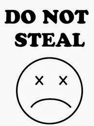 no stealing